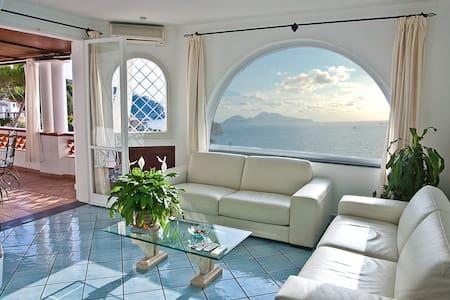 Villa Scirocco Sorrento Coast mare - มัซซา ลูเบรนเซ