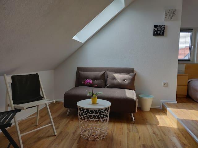 Gemütliches DG Apartment für 1-3 Personen