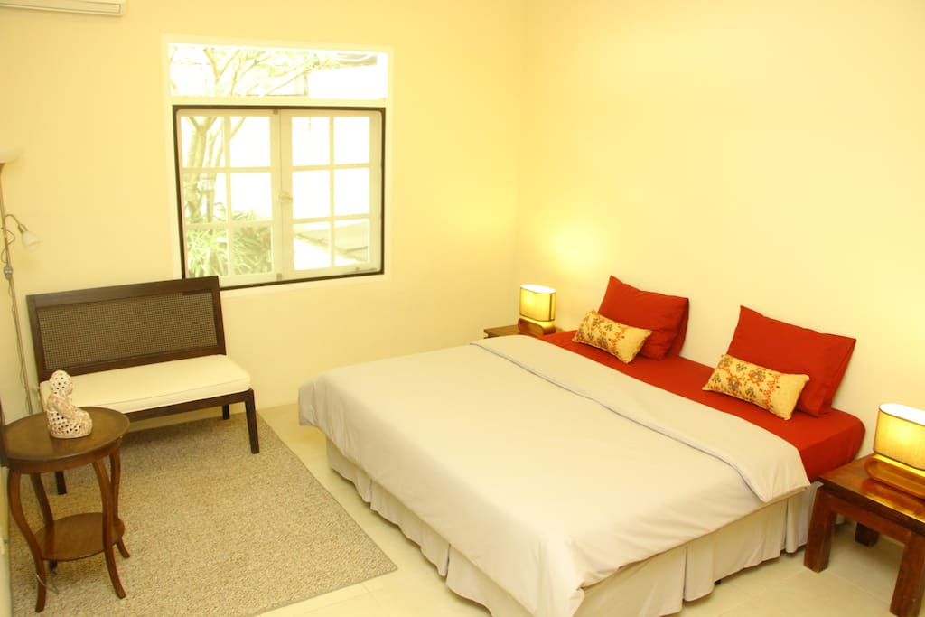 Room with super king size bed