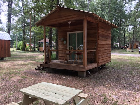 Private Glamping Cabin - Forest - Rivers - Springs