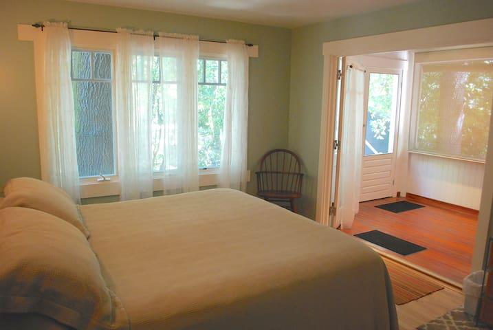 Ground Floor Bedroom --Cal King bed for your comfort