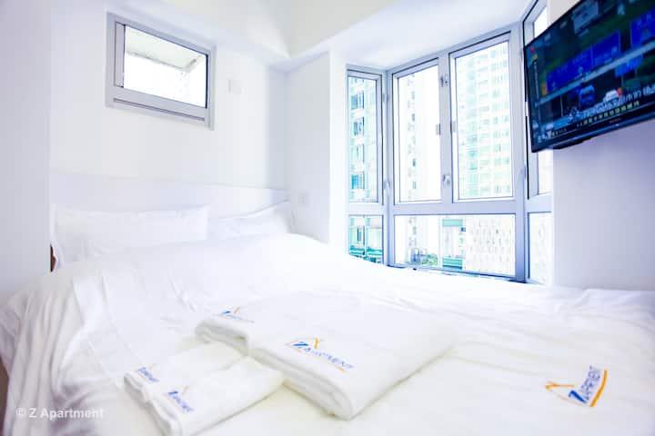 新裝修10@鰂魚涌地鐵開放式公寓