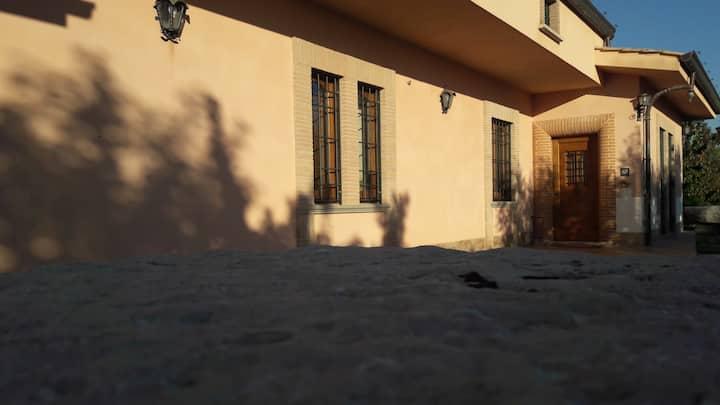 Villa con vista a Veroli