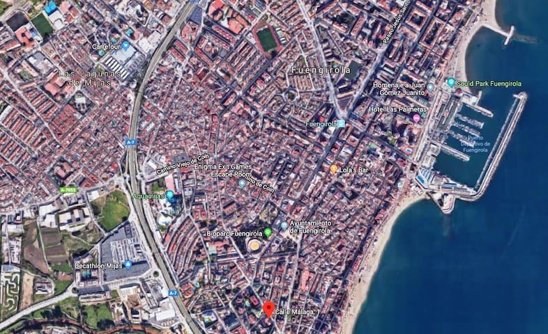 Mapa Satelital Ubicación