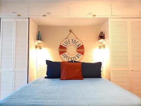 Уютная частная квартира в центре Гольф-Шорса!
