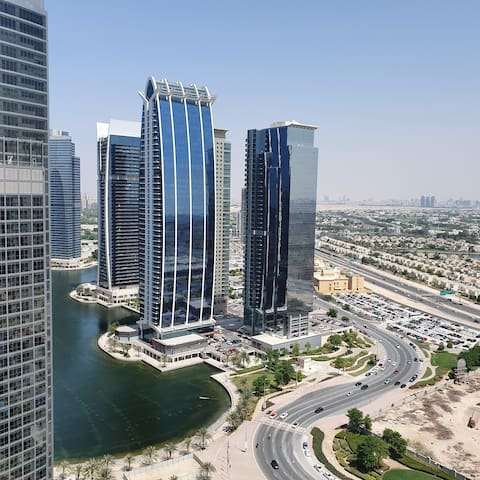 Upgraded Private Studio in Jumeirah Lake Towers