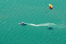 Parasailing in the Laguna Madre is sure to give you a fresh perspective!