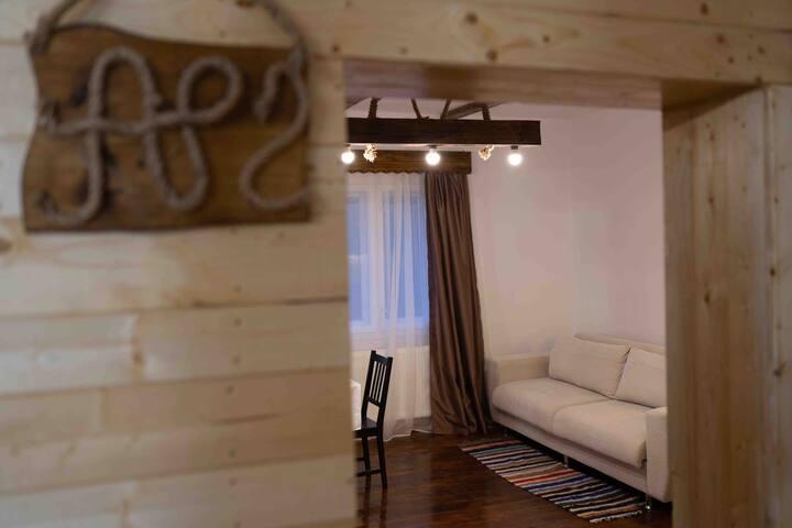 Cozy apartament with balcony.Casa Margau Apuseni