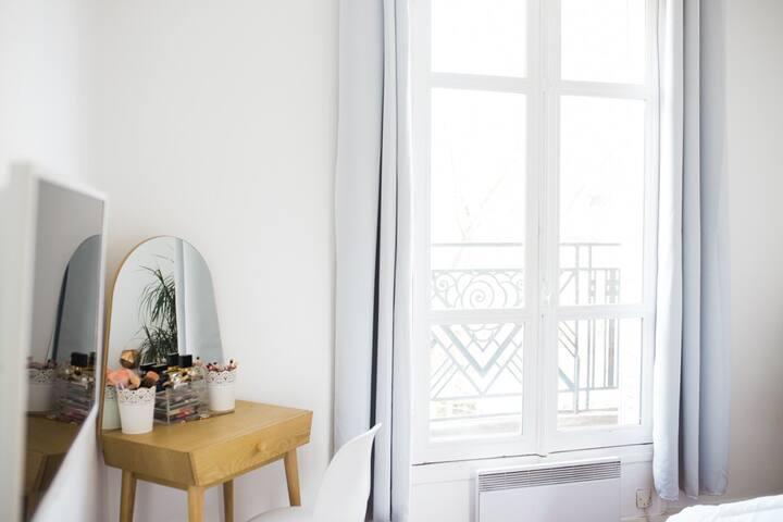 Joli appartement  tout équipé lumineux et calme