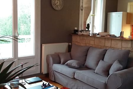 Cosy flat 72 m2 , 200 m from tram - Nantes - Apartment