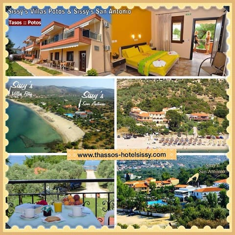 Sissy Villa Potos San Antonio Beach - Potos - Apartament