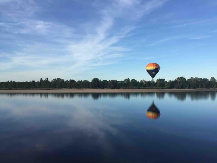 Calme et charme en bord de Loire