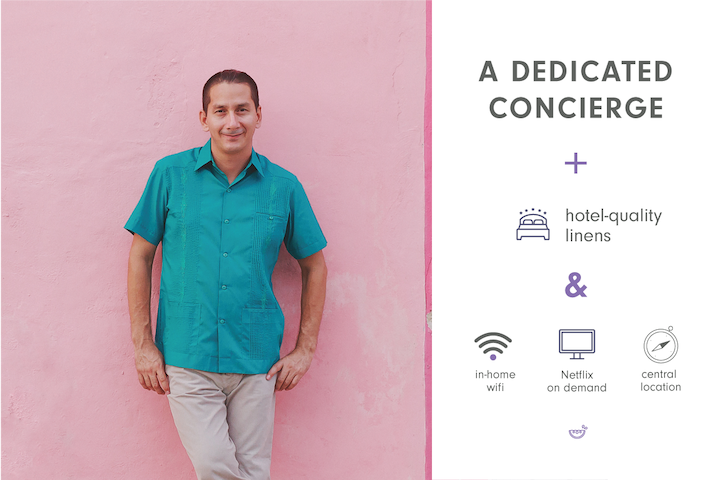 Your dedicated concierge is here to help you settle in