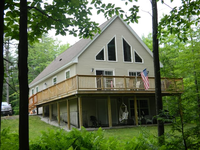 Waterfront Home in Naples Maine