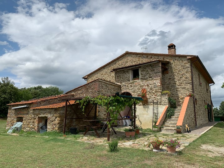 "Old Tuscan farmhouse ""Casa Istrice"" - Le Bagnaie"