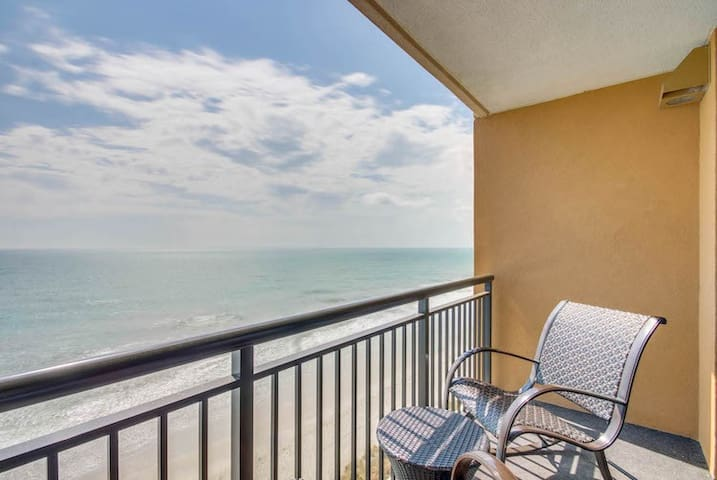 New Listing!  Direct Oceanfront One Bedroom Condo at The Island