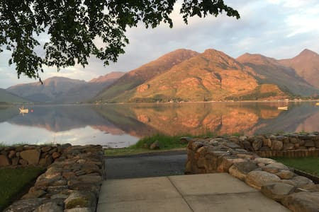 Holiday home on Loch Duich - Kyle - Huis