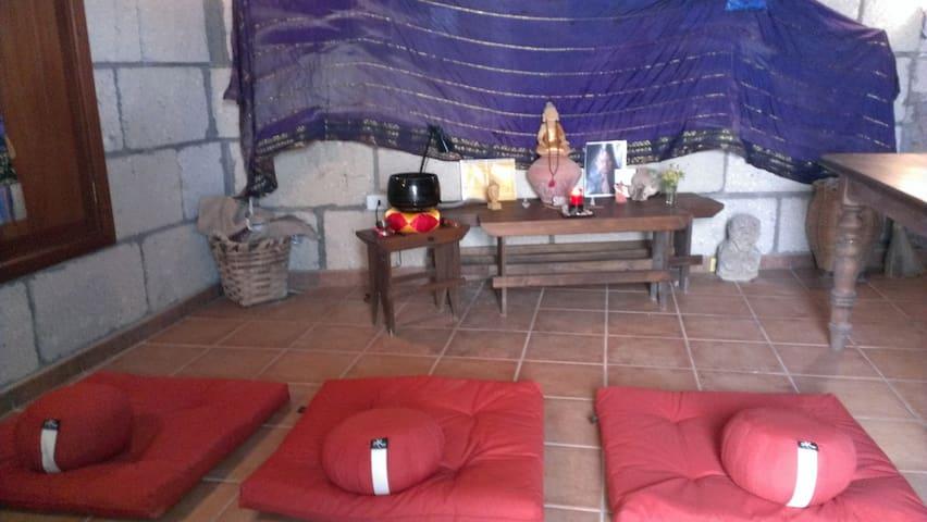 finca meditación,mindfulness momento maravilloso - Fasnia