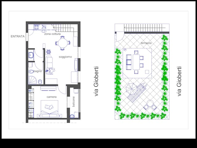 Plan of the flat