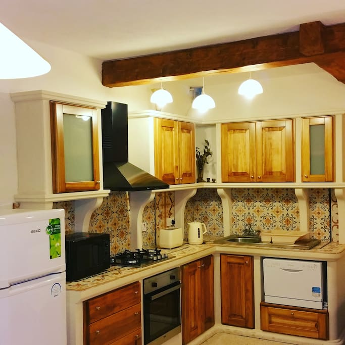 Brand new fully equipped kitchen installed August 2016