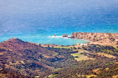 Experience the contrast of the elements in Crete