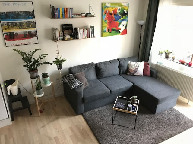Nice, modern apartment close to train and metro