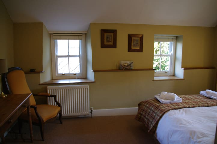Double room - front windows have  water views
