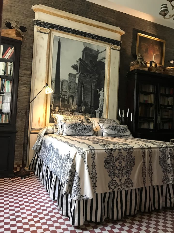 Suite en impresionante y lujosa Villa del año 1929