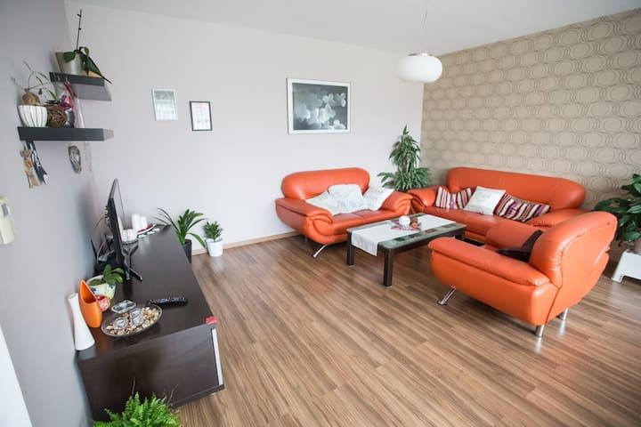 Krásný byt blízko centra s lodžií-děti zdarma - Litomyšl - Apartamento
