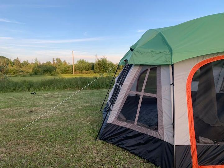 Epoufette-Place of Rest Camping. Five acre lawn