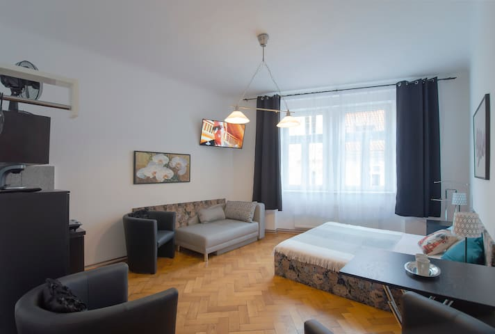 Skolska apartment in the city center!