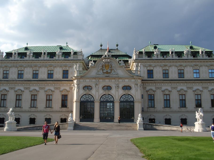 Belvedere Museum and Palace - right in the neighborhood and very walkable!