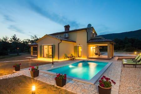 Villa Mare&Monti Istria-Nature park Ucka,Opatija - Boljun - Huvila