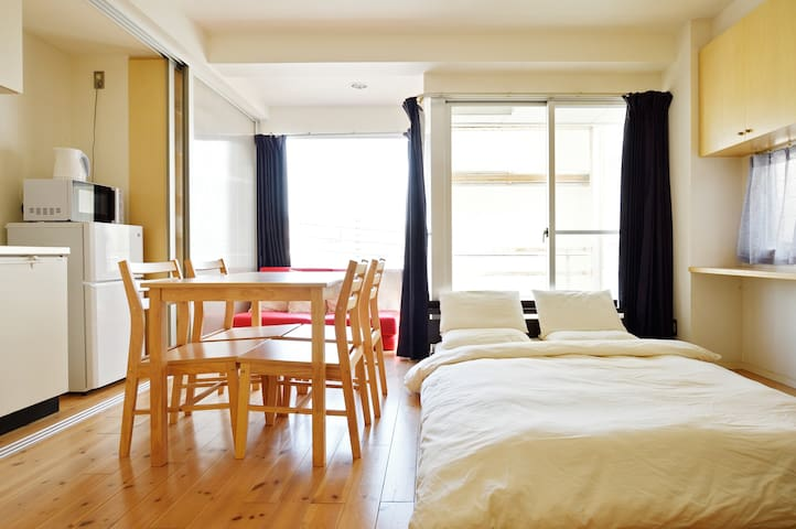 No1 Location & Best Price!!5mins from Namba sta!E1 - Chūō-ku, Ōsaka-shi - Apartment