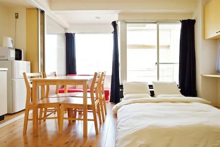 No1 Location & Best Price!!5mins from Namba sta!E1 - Chūō-ku, Ōsaka-shi - Apartmen
