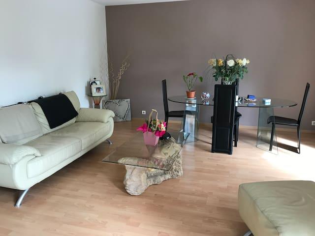 Belle chambre dans appartement spacieux et calme,