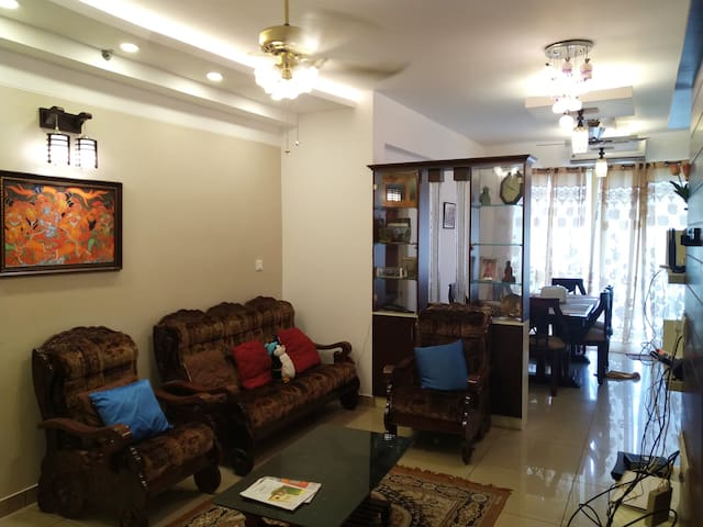 StayCool 2 Bed Furnished-Airconditioned Apartment