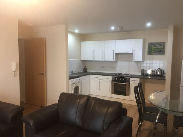 Stunning apt close to Old Trafford and city centre - Salford - Apartment