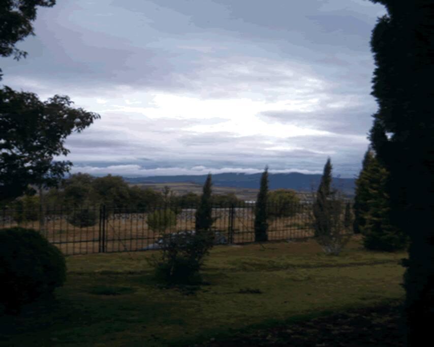 Vista del Paisaje desde la Finca