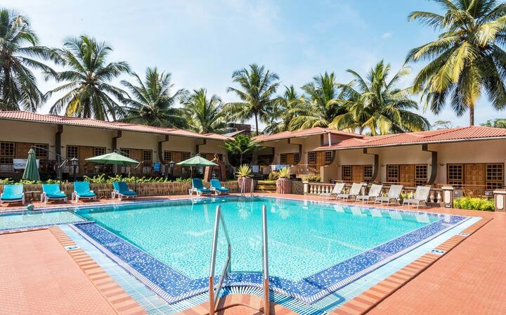Fazziaa Rooms With Pool Near Vagator Beach LR