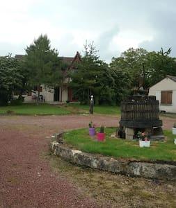 maison avec piscine - Semblançay - Haus