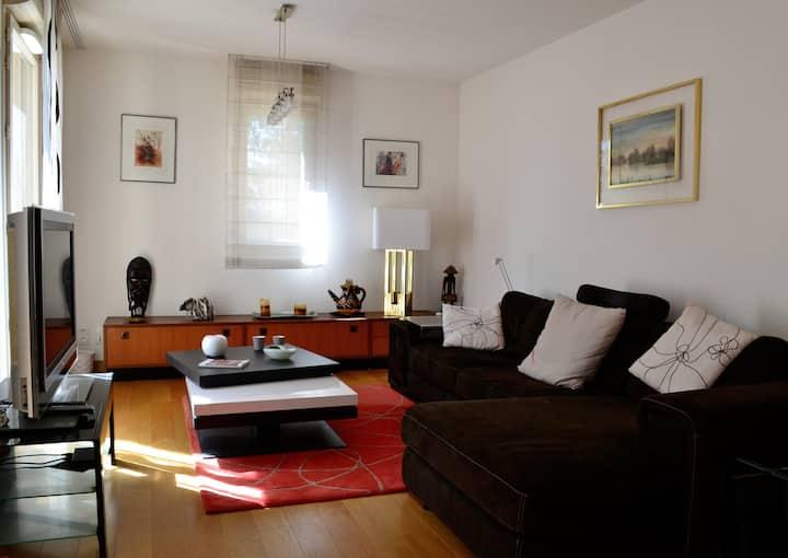 Appartement avec jardin,calme et sécurisé