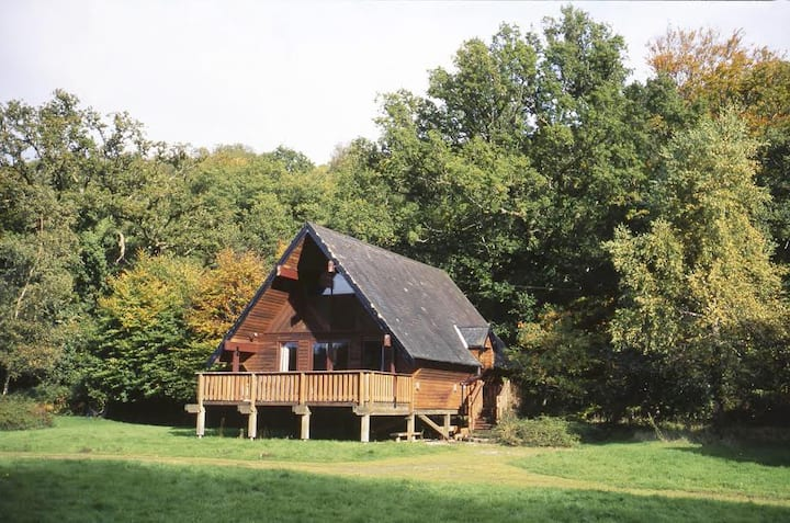 Mole End,riverside lodge in Dartmoor National Park
