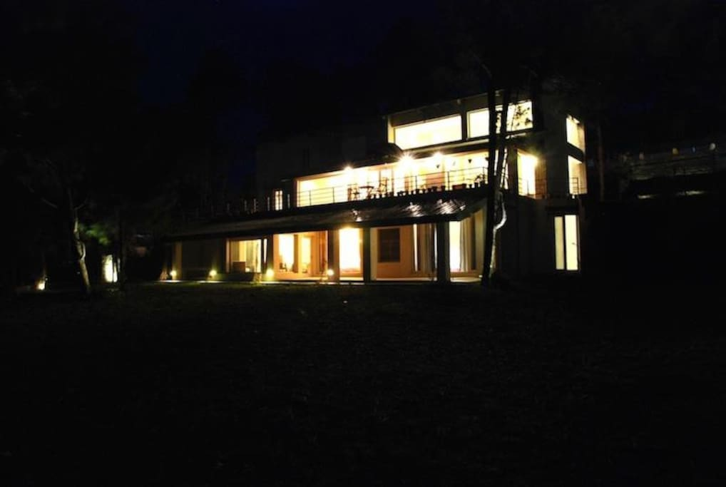 Night Front View