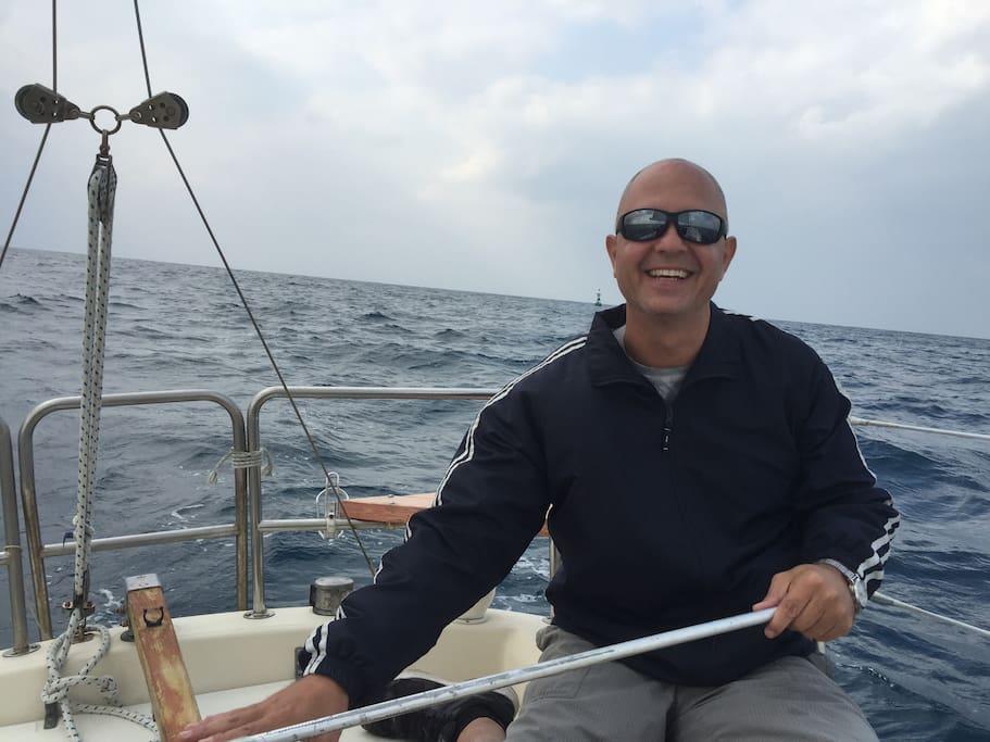 sailing my life away!