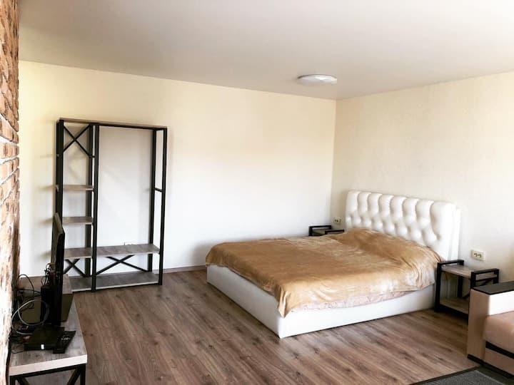 Уютная квартира студия в Горках