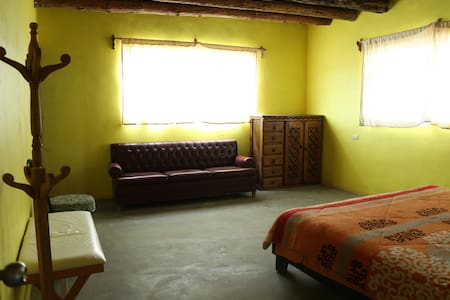 """Habitación """"Hikuri"""" en  Wirikuta. Las Margaritas."""