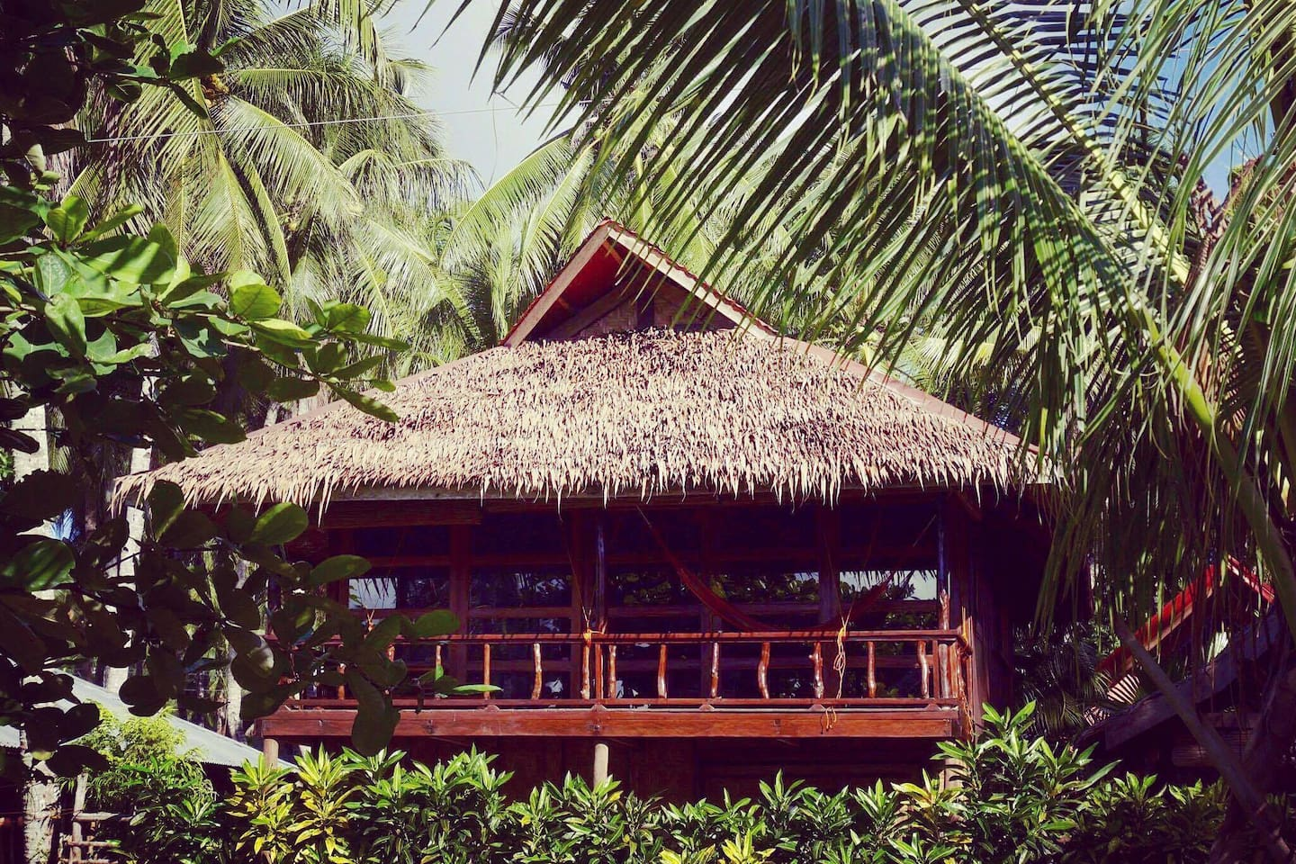Front elevation on a beautiful Siargao day.