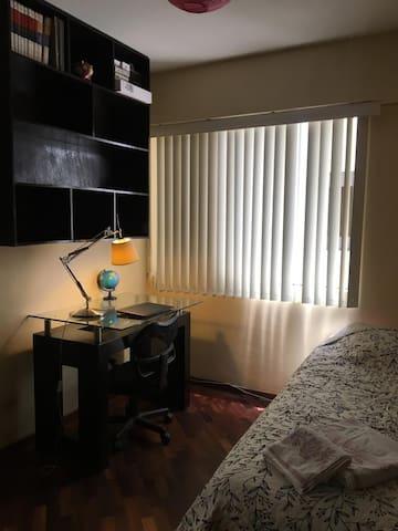 Acogedora habitación en Pueblo Libre.