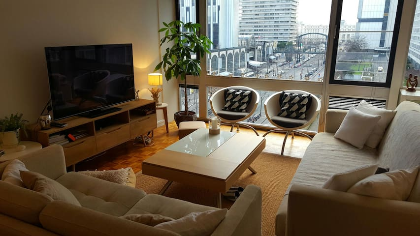Private room in a design apartment in Montparnasse - Paris-14E-Arrondissement - Byt